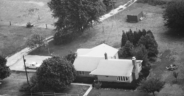 Vintage Aerial photo from 1987 in Cumberland County, NJ