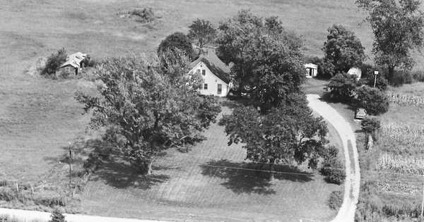 Vintage Aerial photo from 1981 in Benton County, MO