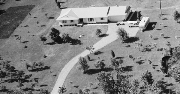 Vintage Aerial photo from 1978 in Warren County, OH