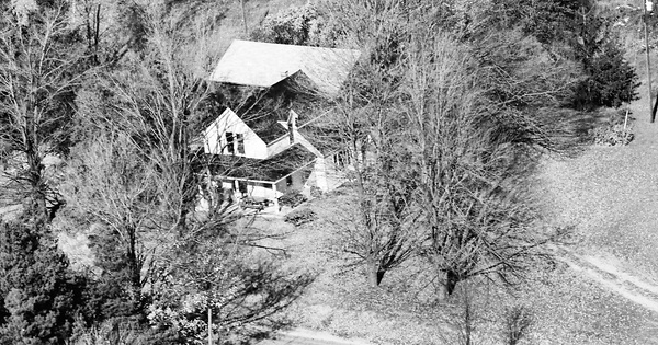 Vintage Aerial photo from 1985 in Kent County, MI