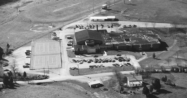 Vintage Aerial photo from 1993 in Greene County, TN
