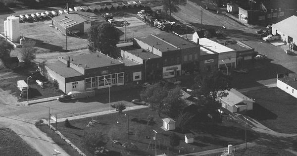 Vintage Aerial photo from 1994 in Cedar County, NE