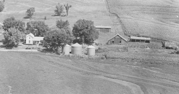 Vintage Aerial photo from 1980 in Holt County, MO
