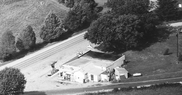 Vintage Aerial photo from 1993 in Goochland County, VA