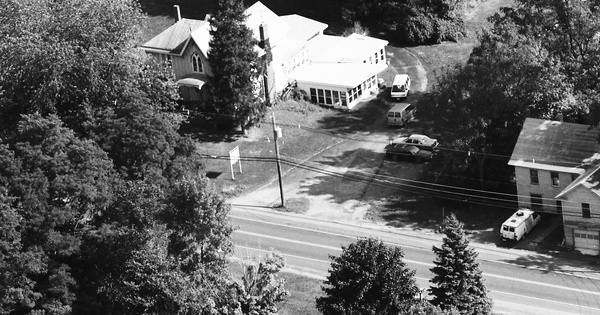 Vintage Aerial photo from 1991 in Oswego County, NY