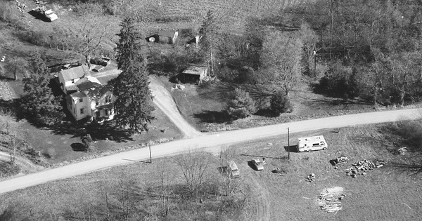 Vintage Aerial photo from 2000 in Greene County, PA