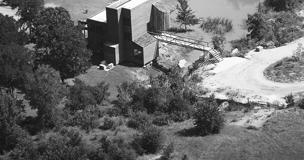 Vintage Aerial photo from -1986 in Collin County, TX
