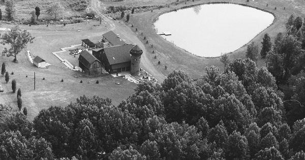 Vintage Aerial photo from 1985 in Harford County, MD