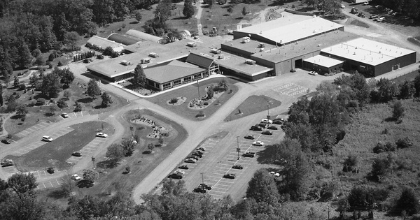 Vintage Aerial photo from 2000 in Lycoming County, PA
