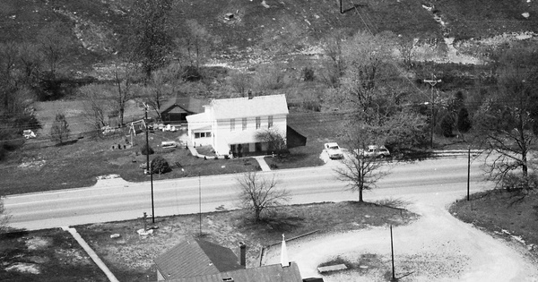Vintage Aerial photo from 1985 in Oldham County, KY
