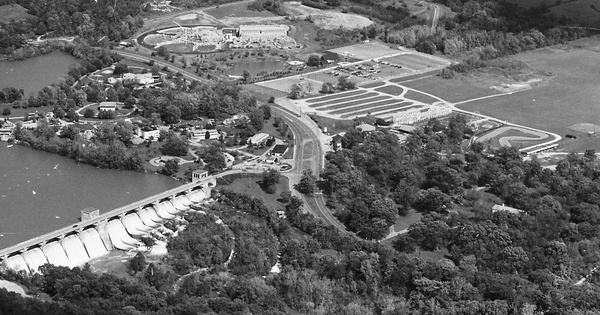 Vintage Aerial photo from 1979 in Delaware County, OH