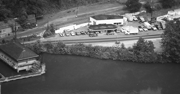 Vintage Aerial photo from 1984 in Fayette County, WV