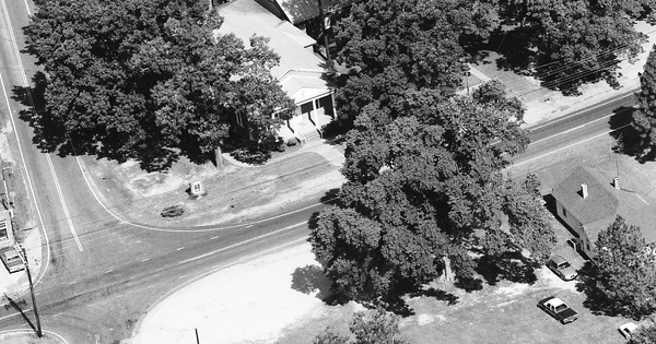 Vintage Aerial photo from 1991 in Northampton County, NC