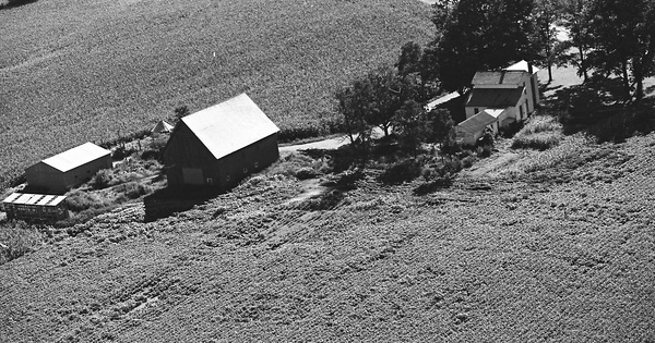 Vintage Aerial photo from 1981 in Henry County, IN