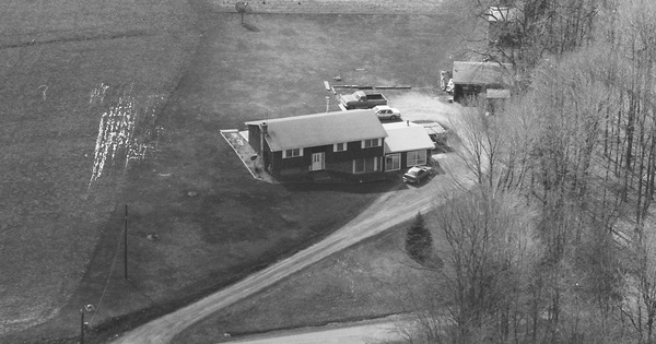 Vintage Aerial photo from 1998 in Butler County, PA