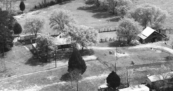 Vintage Aerial photo from 1991 in Dade County, GA