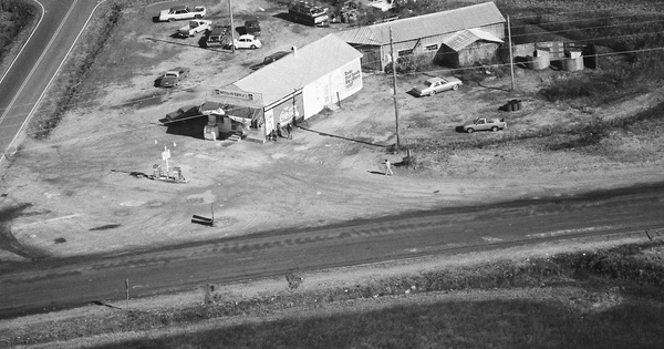 Vintage Aerial photo from 1987 in Wilson County, NC
