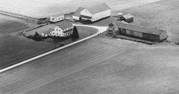 Vintage Aerial photo from 1969 in Montgomery County, OH