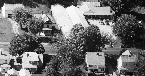 Vintage Aerial photo from 1990 in Tuscarawas County, OH