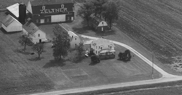 Vintage Aerial photo from 1994 in Wood County, OH