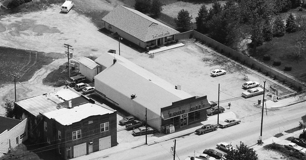 Vintage Aerial photo from 1989 in Queen Anne's County, MD