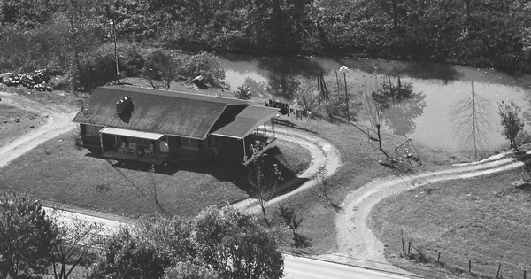 Vintage Aerial photo from 1982 in Jackson County, KY