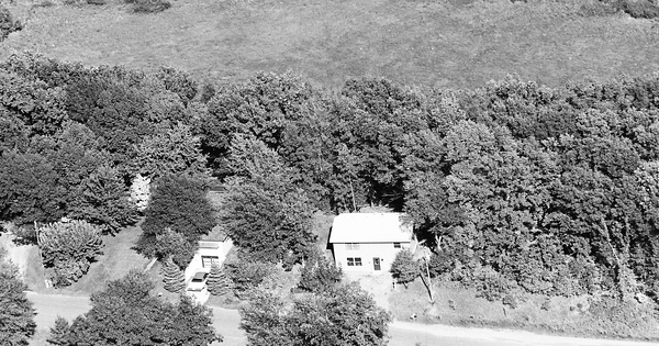 Vintage Aerial photo from 1980 in Sherburne County, MN