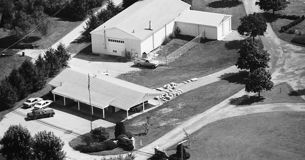 Vintage Aerial photo from 1983 in Westmoreland County, PA