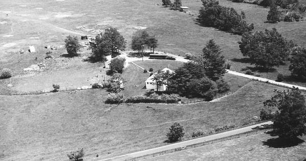 Vintage Aerial photo from 1994 in Appomattox County, VA