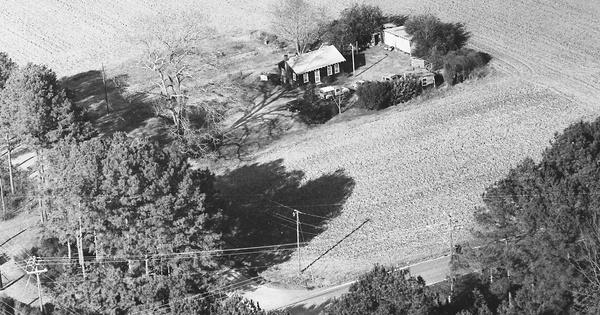 Vintage Aerial photo from 1991 in Virginia Beach City, VA