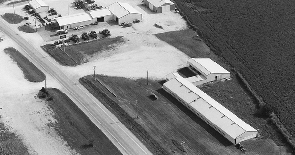 Vintage Aerial photo from 2000 in Pike County, MO