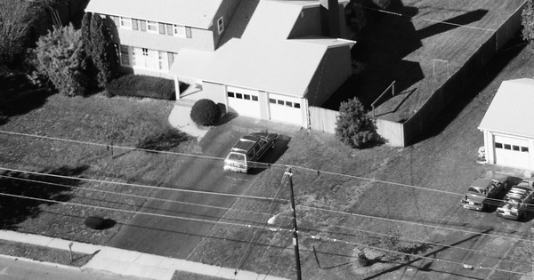 Vintage Aerial photo from 1986 in Mercer County, NJ