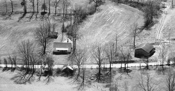 Vintage Aerial photo from 1994 in Alexander County, NC