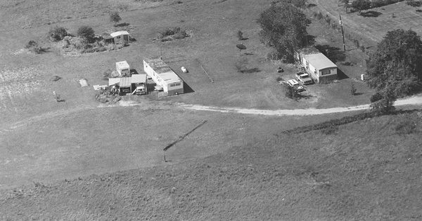 Vintage Aerial photo from 1996 in Wise County, TX