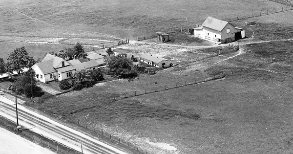 Vintage Aerial photo from 1964 in Madison County, OH