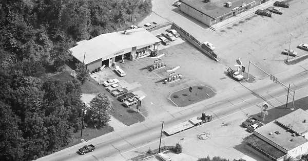 Vintage Aerial photo from 1980 in Tippecanoe County, IN