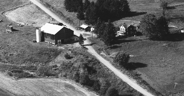 Vintage Aerial photo from 1983 in Indiana County, PA