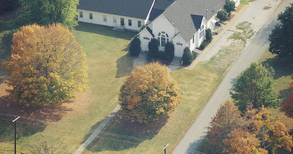 Vintage Aerial photo from 2000 in Maury County, TN