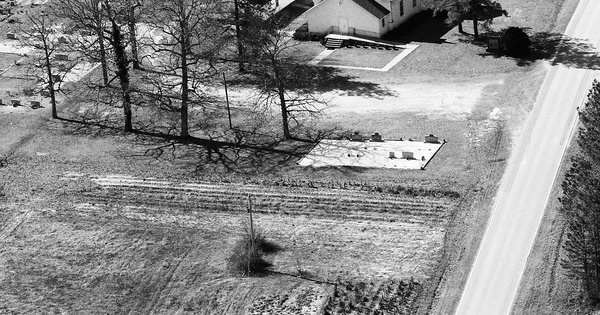 Vintage Aerial photo from 1991 in Franklin County, NC