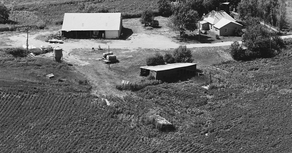 Vintage Aerial photo from 1980 in Atchison County, MO