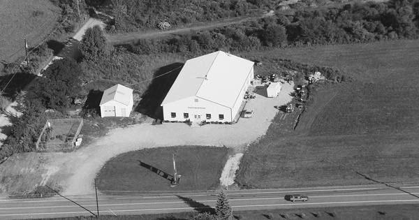 Vintage Aerial photo from 1996 in Lackawanna County, PA