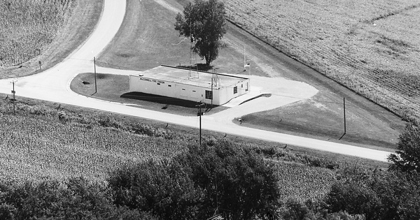 Vintage Aerial photo from 1974 in Stephenson County, IL