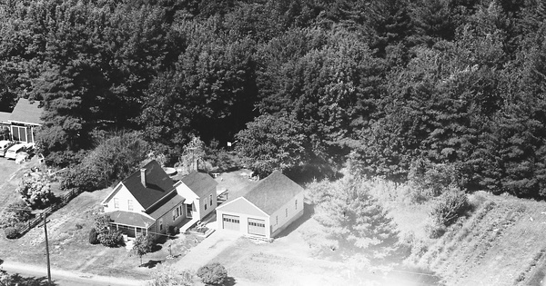Vintage Aerial photo from 1966 in Essex County, MA
