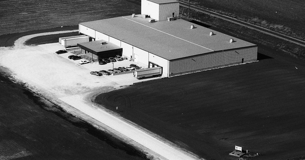 Vintage Aerial photo from 1994 in Mahaska County, IA