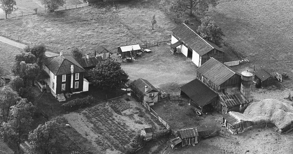 Vintage Aerial photo from 1970 in Mifflin County, PA