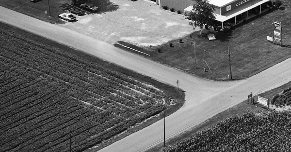 Vintage Aerial photo from 1991 in Putnam County, OH