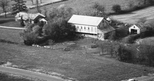 Vintage Aerial photo from 1982 in Clark County, OH
