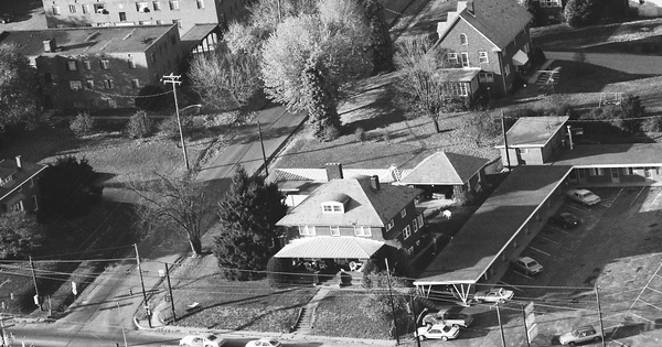 Vintage Aerial photo from 1988 in Greene County, PA