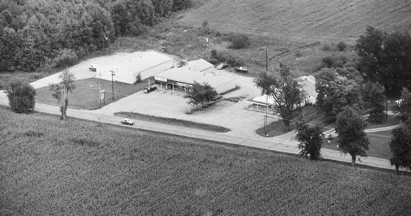 Vintage Aerial photo from 1982 in Butler County, OH