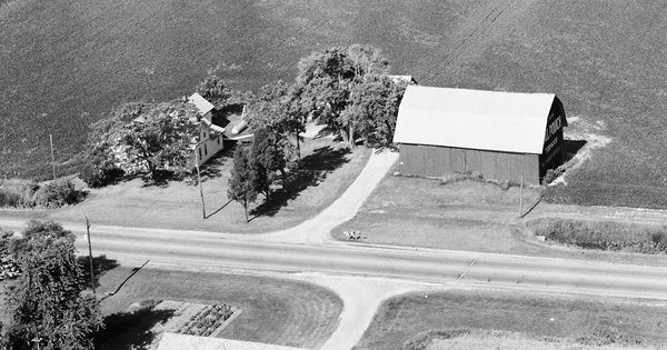 Vintage Aerial photo from 1982 in Ottawa County, OH